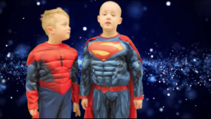 SUPER LOCHIE AND THE RADIOTHERAPY MACHINE - ANOTHER PETER MAC MOVIE STAR!